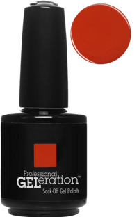 Jessica GELeration UV Gel Nail Polish - Karma 2015 - Bindi Red